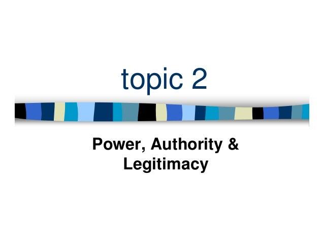 essay authority power