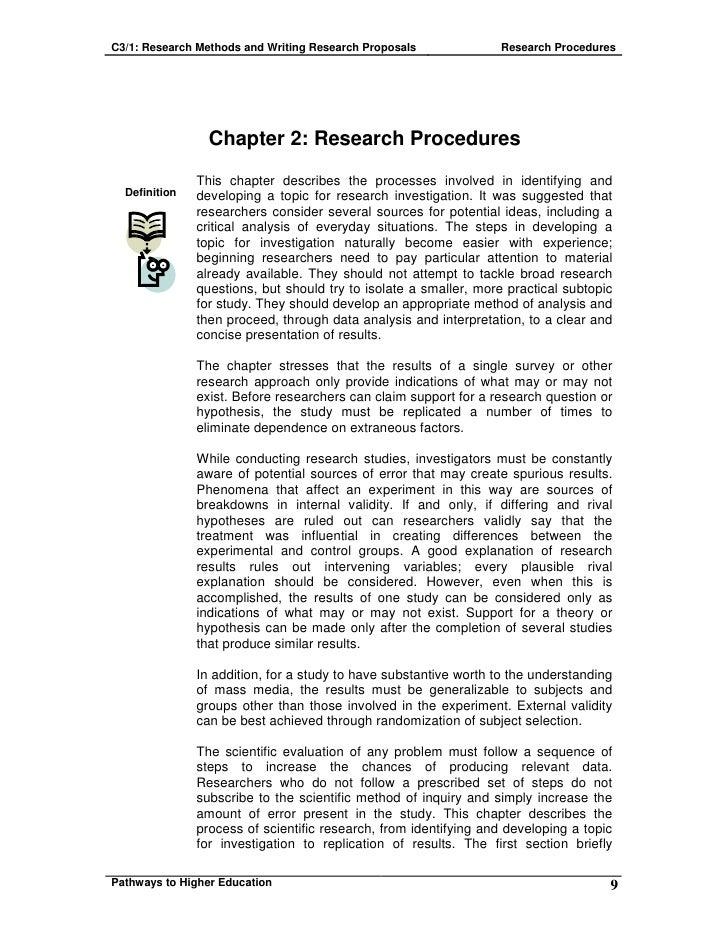 Methods of development essay
