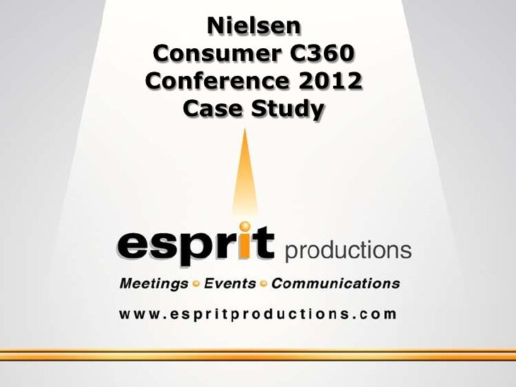 Nielsen Consumer 360 Conference 2012 Case Study