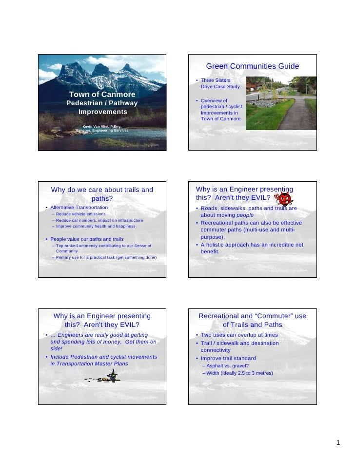 Green Communities Guide - Canmore - Conference 2009 (C3)
