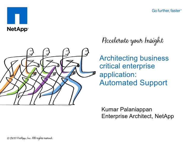 Architecting Business Critical Enterprise Apps-NetApp