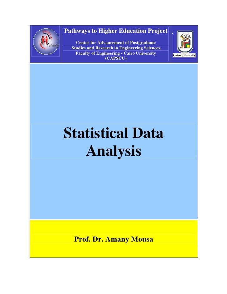 C4 1 Statitical Analysis