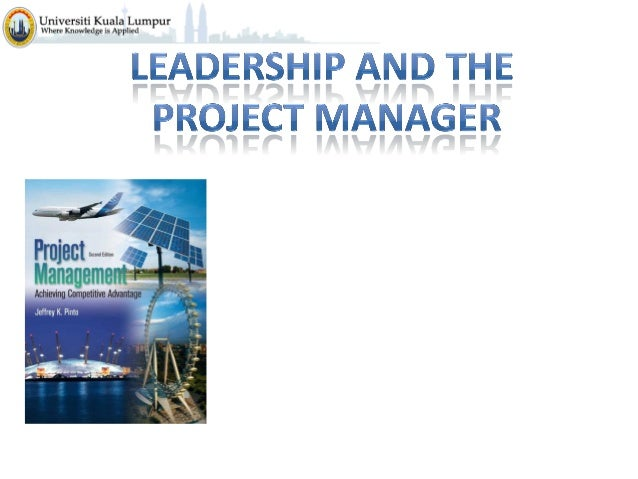 Project Management C4  -leadership_and_the_project_manager
