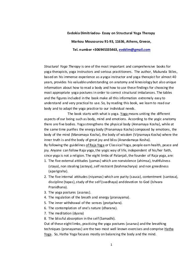 Help Me Write Essay On Yoga Benefits Essay On Yoga Essay On Yoga Benefits Bikram  Compare And Contrast High School And College Essay also Apa Format For Essay Paper Benefits Of Writing Essays  Underfontanacountryinncom Example Of Proposal Essay