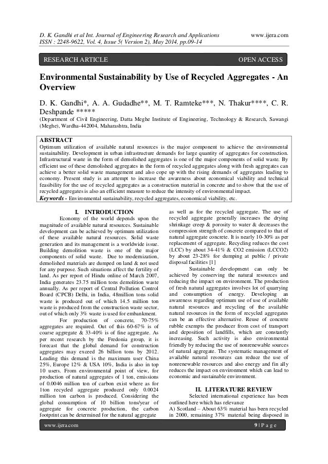D. K. Gandhi et al Int. Journal of Engineering Research and Applications www.ijera.com ISSN : 2248-9622, Vol. 4, Issue 5( ...