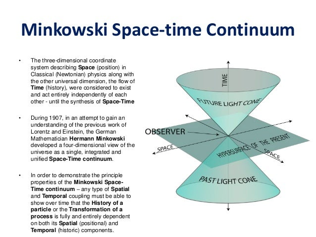 Thinking about the future 3 scenarios and use cases pdf for Space time continuum explained