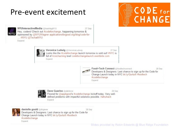 Code for Change select twitter chatter