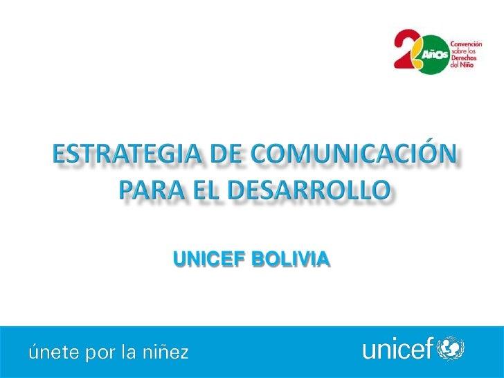 UNICEF BOLIVIA