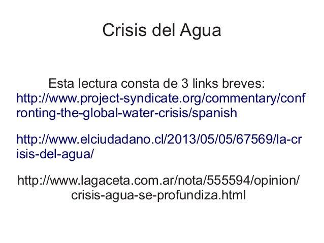C4 t1 crisis del agua