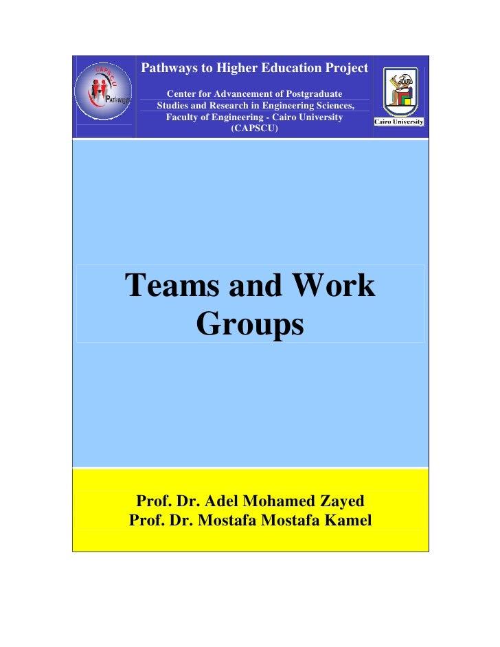 C5 1 Teams & Work Groups
