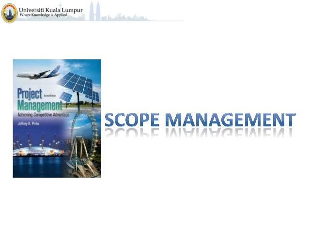 Project Management C5  -scope_management