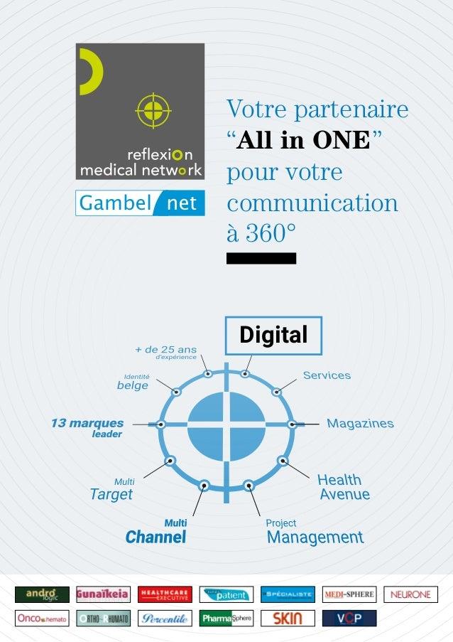 """Digital Votre partenaire """"All in ONE"""" pour votre communication à 360°"""