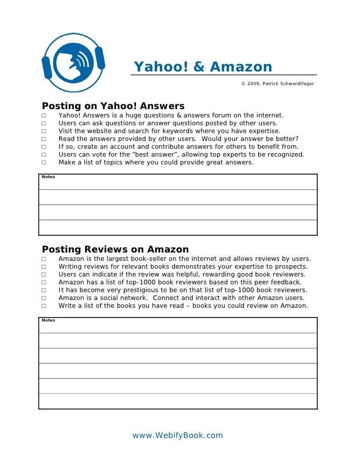 C53 yahoo and amazon worksheet