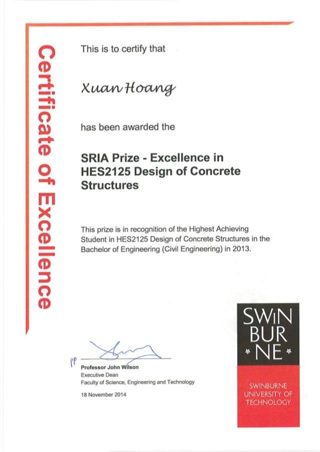 Swinurne Prize 2013