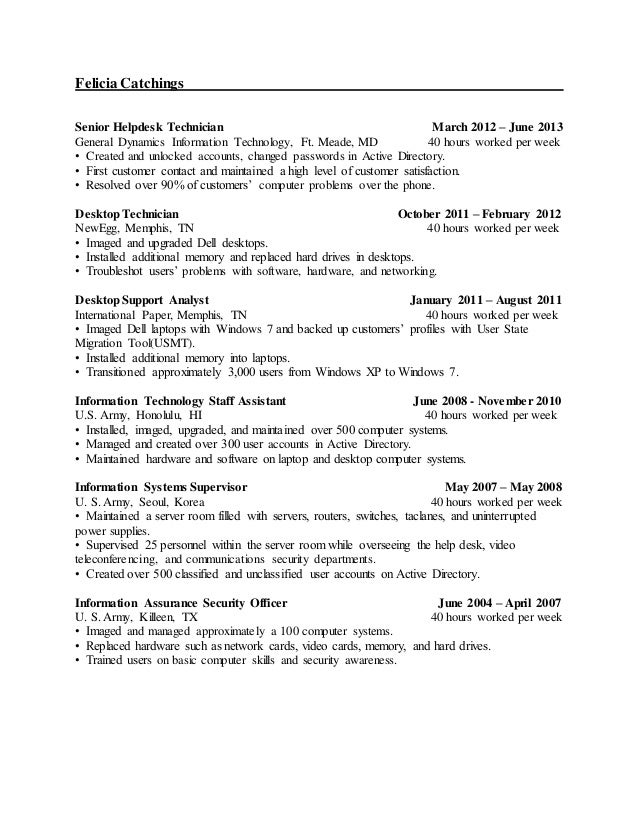 3 years experience resume experience on a resume template