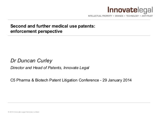 C5 second medical_use_patents_presentation_29_january_2014