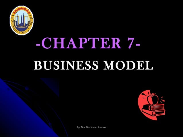 -CHAPTER 7BUSINESS MODEL  By: Nor Aida Abdul Rahman