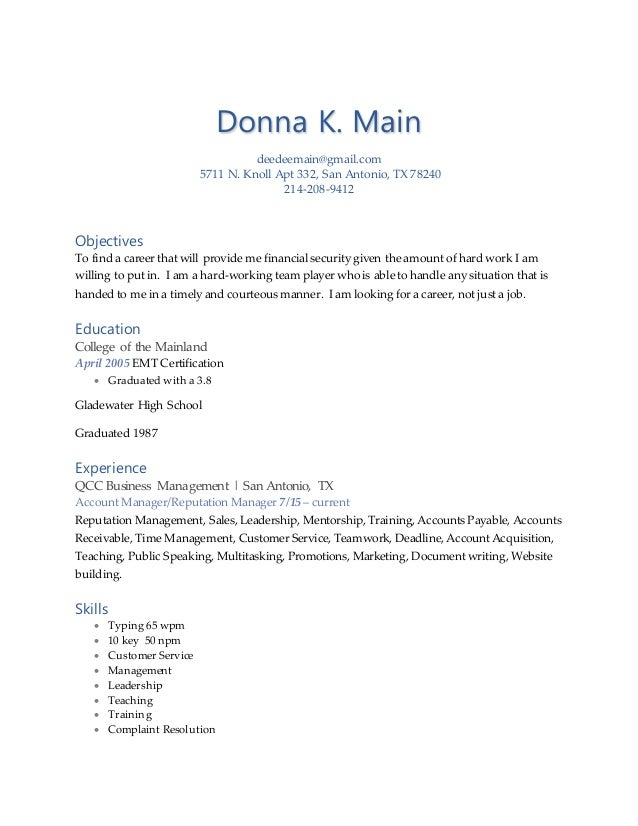 top ten resume writing services