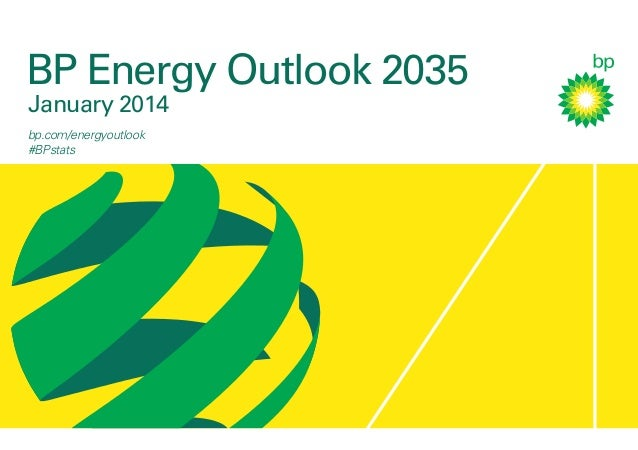 BP Energy Outlook 2035: 2014 Booklet