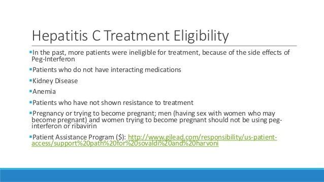 Ribavirin Patient Assistance Program