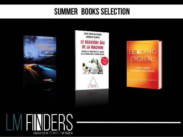 Summer books selection