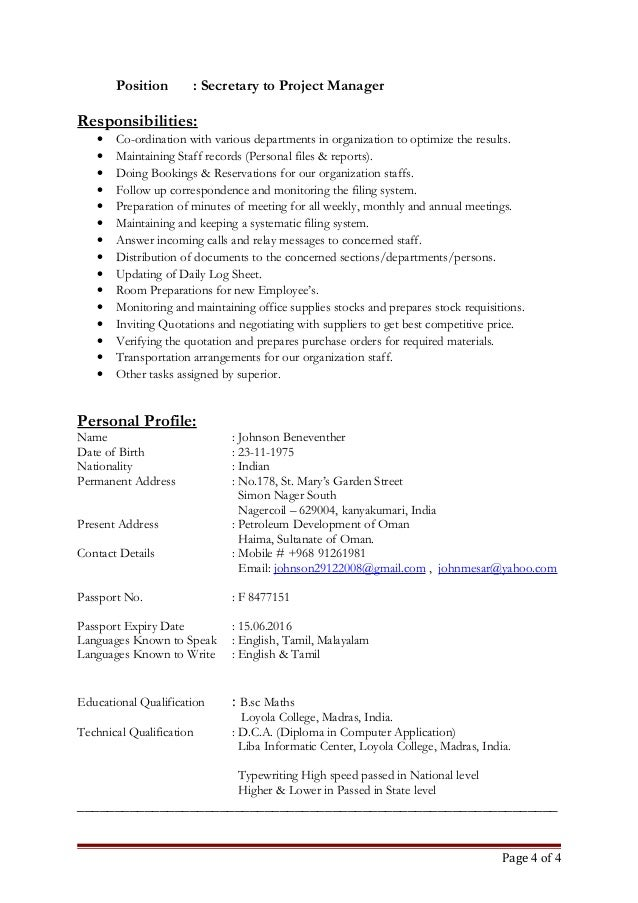 sample resume for legal administrative assistant executive
