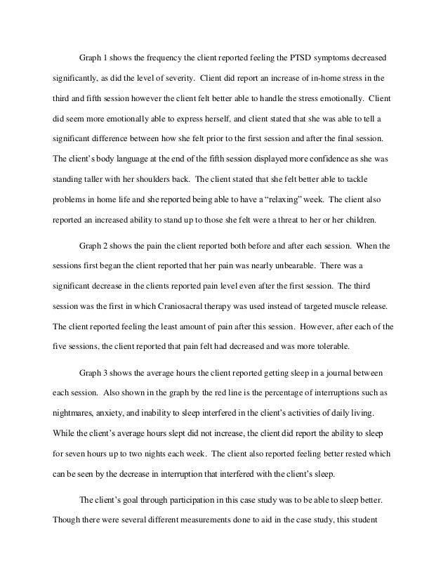 Post traumatic stress disorder essay thesis