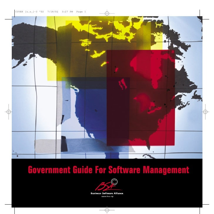 COVER [u.s.]-3 02   7/18/02   3:27 PM   Page 1       Government Guide For Software Management