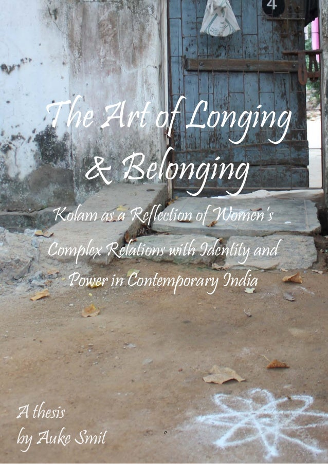 belonging thesis on identity