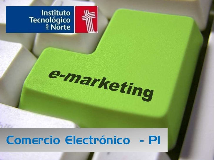 Comercio Electrónico - P1