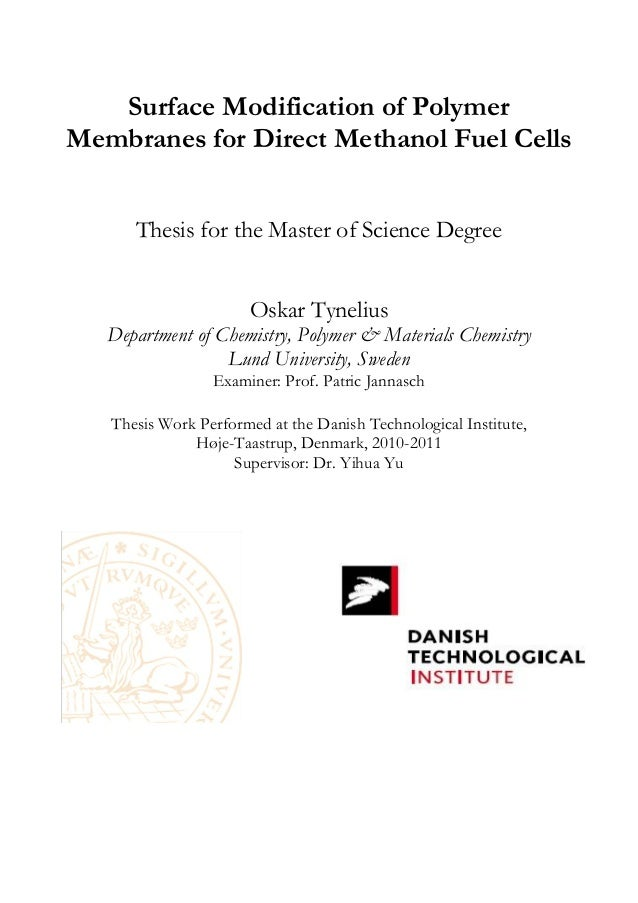 thesis on polymers