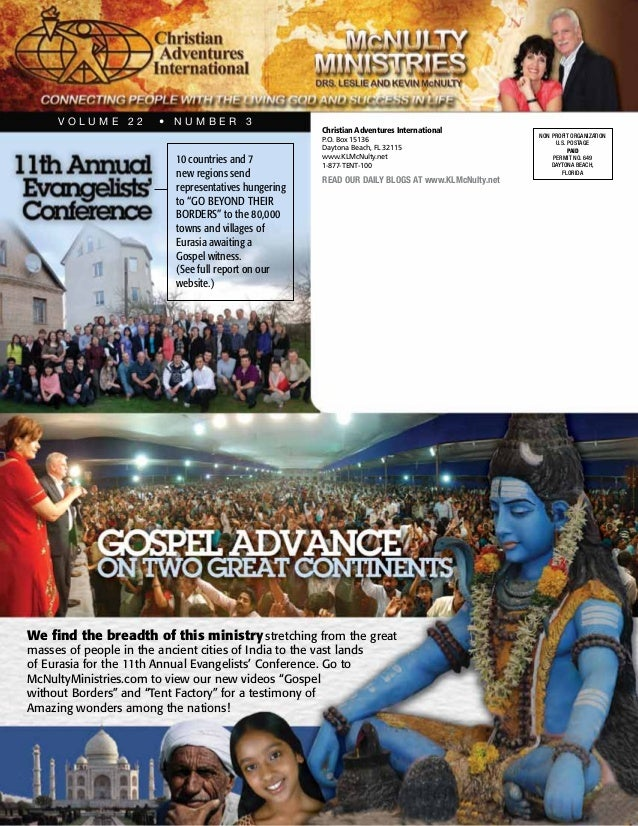 Gospel Advance on Two Great Continents