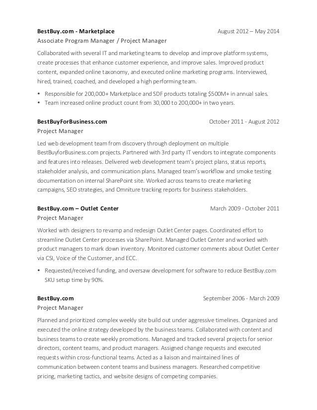 Best buy resume application 2014