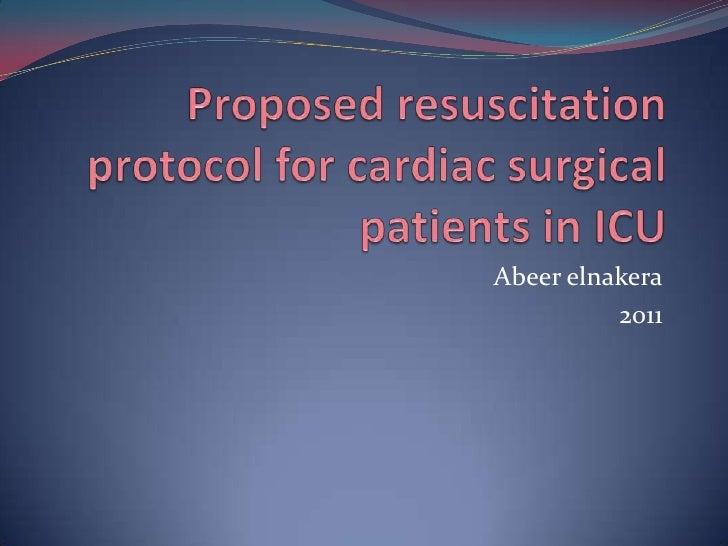 CAafter cardiac surgery