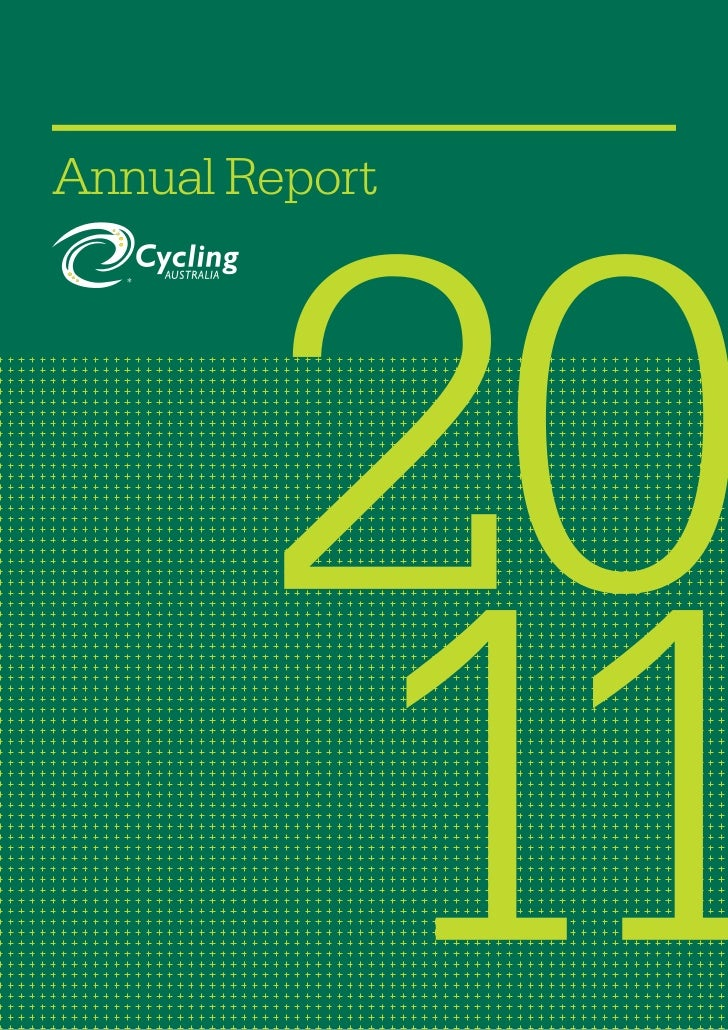 2011 Cycling Australia Annual Report