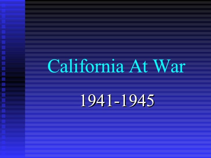 Ca At War