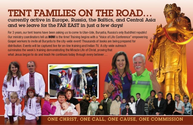 TENT FAMILIES ON THE ROAD… currently active in Europe, Russia, the Baltics, and Central Asia and we leave for the FAR EAST...