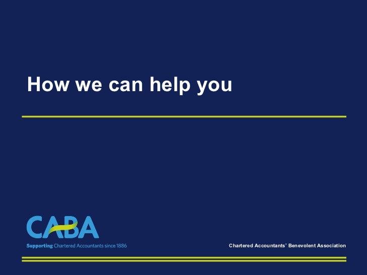 CABA Presentation 2011