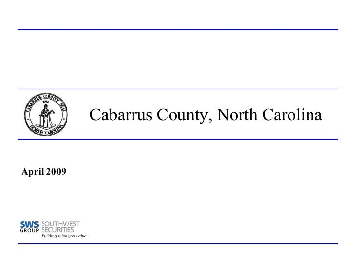 Cabarrus County Rating Book 4 06 09   Final Ls