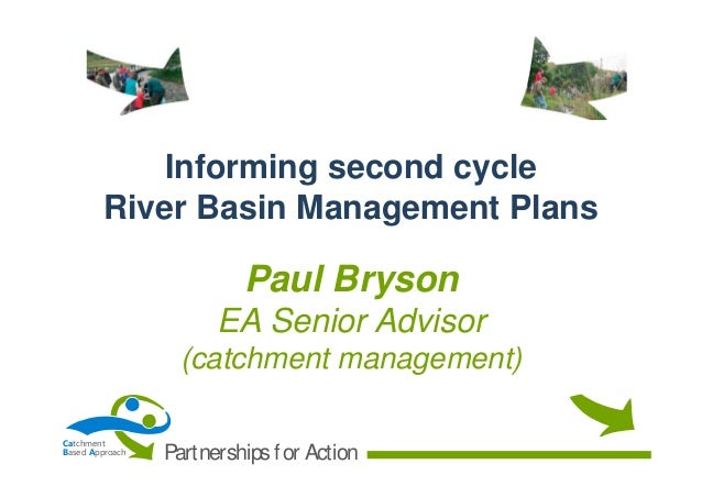 CaBA Startup Conference 05 - Informing second cycle River Basin Management Plans