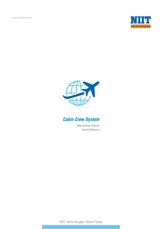 Cabin Crew System: Improving Crew's Overall Efficiency - Whitepaper