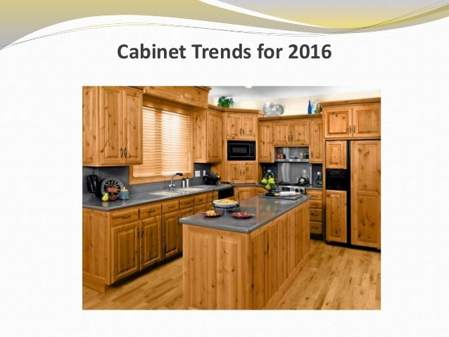 cabinet trends for 2016