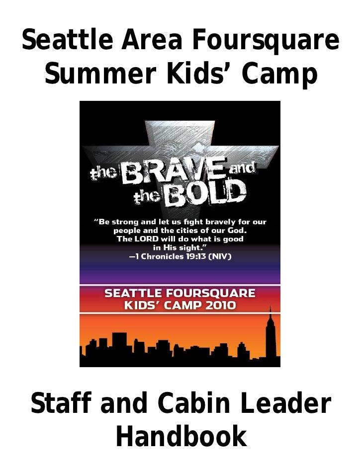 Cabin  Leader  Handbook