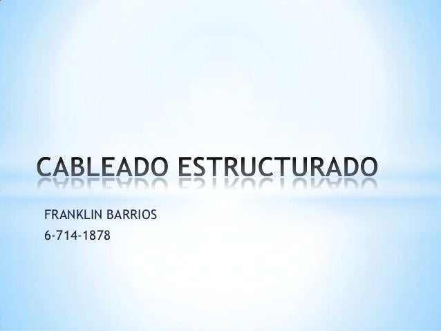 FRANKLIN BARRIOS6-714-1878