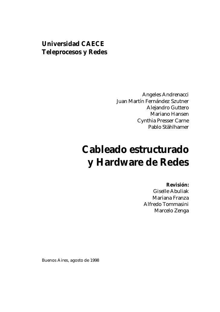 Universidad CAECE Teleprocesos y Redes                                              Angeles Andrenacci                    ...