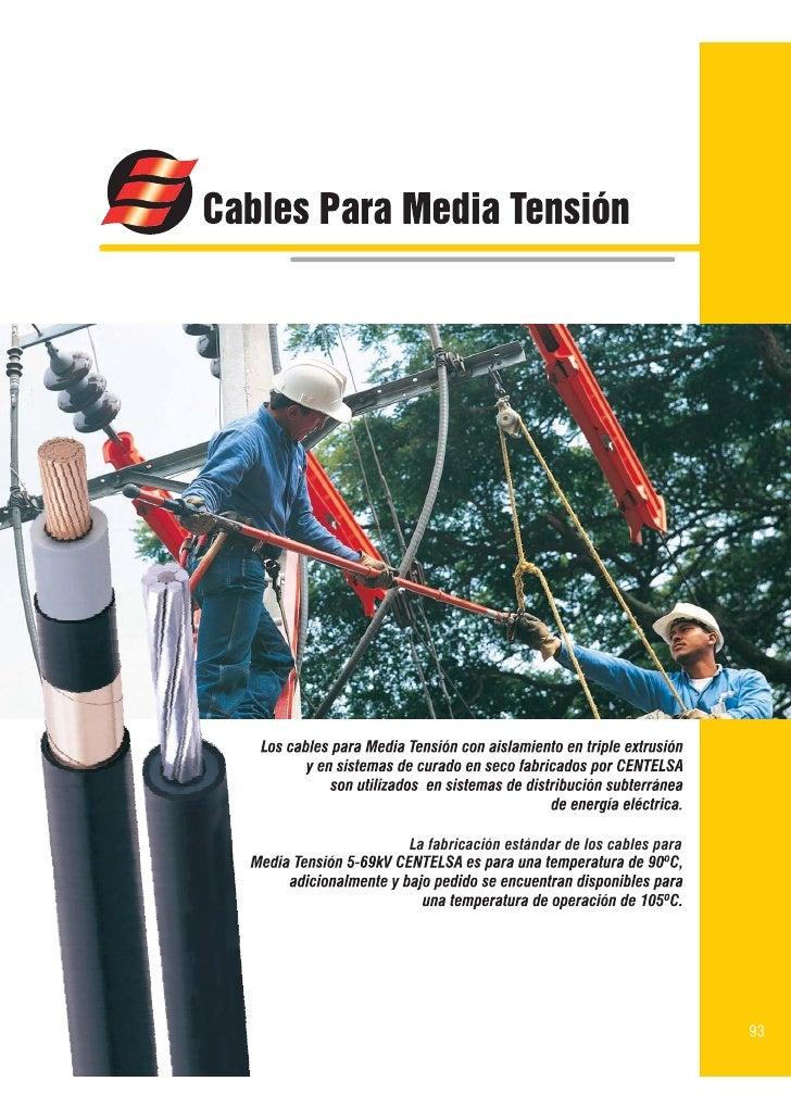 La fabricación estándar de los cables para                                                  93