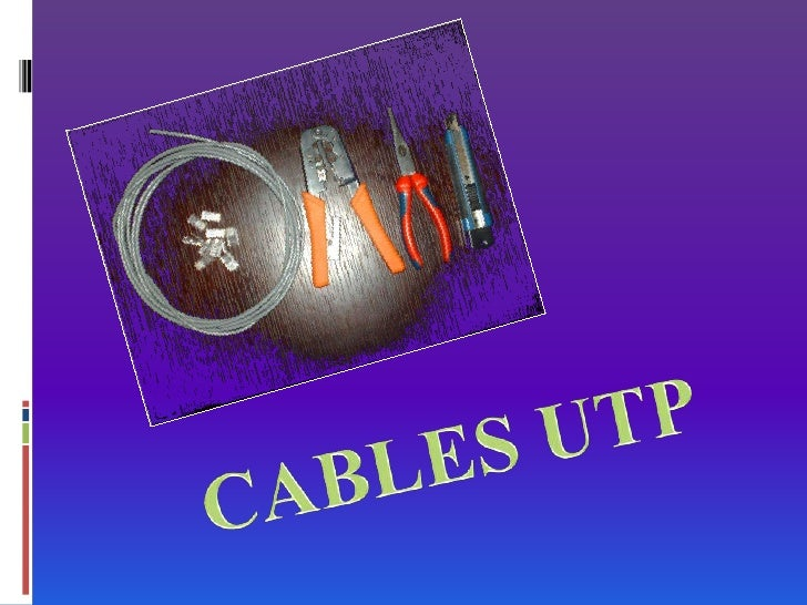 CABLES UTP<br />