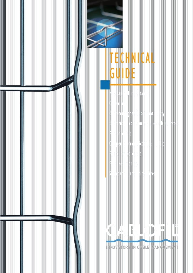Cablofil Cable Basket - Wire Cable Basket (Galvanised & Stainless Steel) Technical Guide