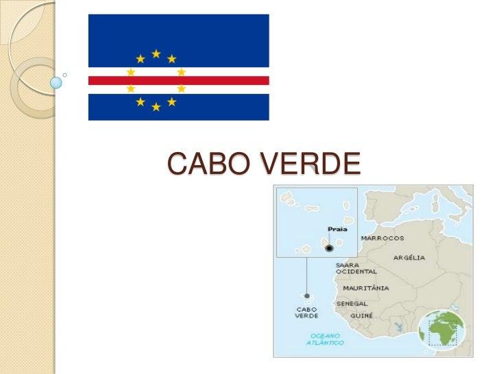CABO VERDE<br />