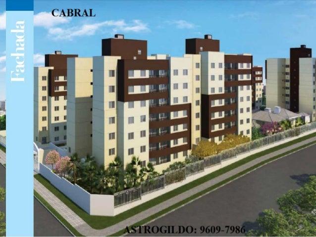 Apartamento Cabral contry 3 QUARTOS 74 m²  privativos PRONTO 9609-7986
